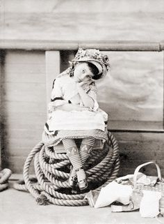 Little Corinne, the Infant Prima Donna (c1878).  Photographer: Notman & Campbell, Boston