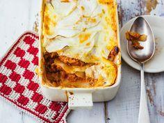 Lasagne mit Kohlrabi: