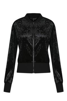 Black Velvet Bomber Jacket TALLY WEiJL