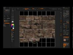ZBrush Tileable Textures 01 - 2.5D Workflow