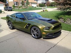 2013 Roush Mustang. She needs new shoes but I could work with it.