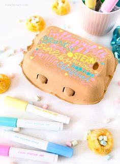 Pilot, Hoppy Easter, Easter Treats, Paint Markers, Diys, Diy Crafts, Cake, Desserts, How To Make