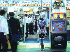 Mariko Mori: Cybergeishas, technonolgy and religion | Performance Art, Video Installation | Alter Ego, Fantasy, Fashion, Mariko Mori, Pop Culture, Religion |Contemporary Art