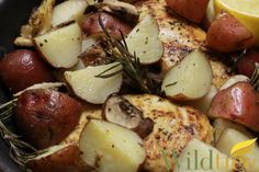 Wildtree's Skillet Rosemary Garlic Chicken Recipe - www.mywildtree.com/simpleandhealthy