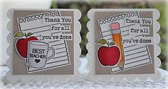 Teacher Appreciation Clearly Besotted Stamps