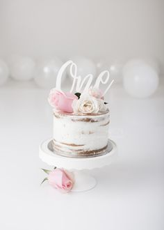 Simple white cake smash photography Adelaide with Michelle Petkovic Photography