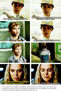 [gifset] #Bellarke #AU It's harder to accept this when you know what's actually going on in this scene.