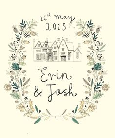 Wedding Stationery. Katt Frank design