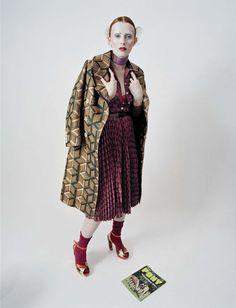 Karen Elson by Tim Walker for Vogue Italia December 2015