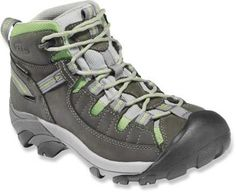 The Keen Targhee II waterproof day hikers deliver tenacious traction, stability and comfort on the trail. #REIGifts