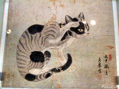 모란과 고양이 :: 국립중앙박물관 상설전 -회화실