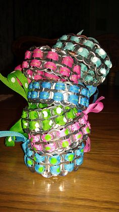Can Tab bracelets I make! @Erin Critchfield