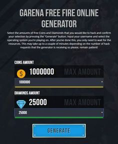 Garena Free Fire Hack No Human Verification No Survey No Password Garena Free Fire Cheats Get Unlimited Free Diamonds and Coins for Android and iOS Garena Free Fire Hack and Cheats Online Generator… Cheat Online, Hack Online, Game Hacker, Free Gift Card Generator, Play Hacks, App Hack, Game Update, Gaming Tips, Android Hacks
