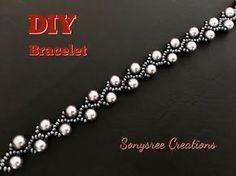 Easy, Fast Pearl vine bracelet ~ Seed Bead Tutorials