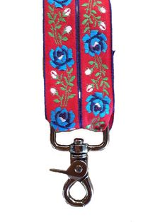 diy camera strap made from bolivian belts on tea collection's studio t blog
