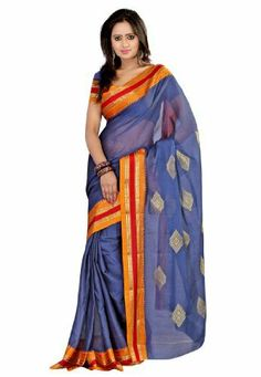 Fabdeal Indian Designer Cotton Blue Plain Saree Fabdeal, http://www.amazon.co.uk/dp/B00INWMQT0/ref=cm_sw_r_pi_dp_fpQntb1HT4D2D