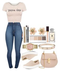 """~She's A Lady - Forever The Sickest Kids~"" by tiffanymejia ❤ liked on Polyvore featuring BCBGMAXAZRIA, Chloé, Merona and Cartier"