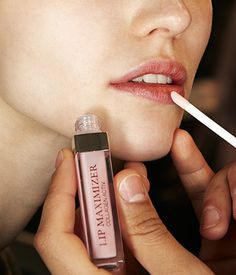 Dior Backstage Makeup -  Lip Glow and Lip Maximizer