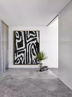 Black And White Painting, Black And White Abstract, Black Art Painting, Large Black, Large Painting, Oil Painting On Canvas, Watercolor Painting, Art Blanc, Grand Art Mural