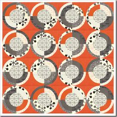 From Zen Chic - I love the new fabric range and I love this colour scheme!