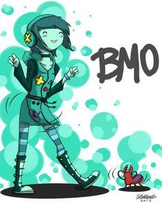 BMO mujer como molaaaa <3