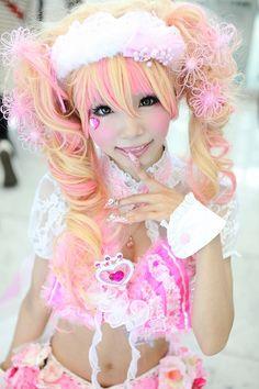 WHOA. She's adorable. x_ x She's like a real life anime character.