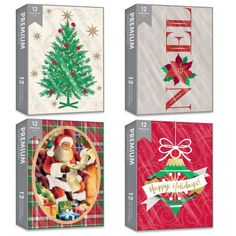 48pk Christmas Holiday Cards – Deluxe Assortment, Foil & Glitter Holiday Cards, Holiday Decor, Washi Tape, White Envelopes, Christmas Holidays, Stationery, Greeting Cards, Paper Crafts, Glitter