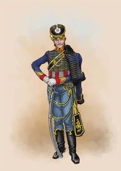 Prussian hussar officer