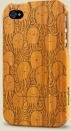 Bamboo iPhone case!!