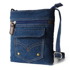 Women Denim Messenger Bags - FREE SHIPPING