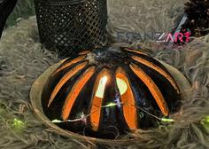Lichterglanz und Kerzenschimmer freut uns auch an den dunklen Abenden am Anfang des Jahres und im Sommer ist es ein Windlicht für den Gartentisch oder kann auch mit einer Anti-Mücken-Spirale verwendet werden. Handarbeit Unikat Mehr dazu im Onlineshop ... #handmadepottery #töpfernmachtglücklich Vase, Stoneware, Winter Time, Clay, Decorating, Handarbeit, Summer, Dekoration, Nice Asses