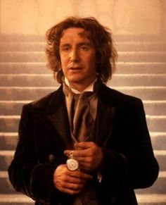 Looks Like Paul McGann Has Filmed A New Doctor Who Something. New Doctor Who, Doctor Who Tardis, Eighth Doctor, Paul Mcgann, Nerd Problems, Crazy Man, Female Doctor, Iconic Characters, Matt Smith