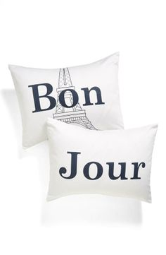 Levtex 'Bon/Jour' Pillowcase Set #poachit