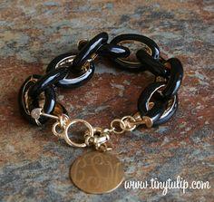 tinytulip.com - Enamel Chain Link Fashion Bracelet, $28.50 (http://www.tinytulip.com/enamel-chain-link-fashion-bracelet)