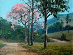 Paisagem Alexandre Reider (Brasil, 1973) óleo sobre tela,  20 x 24 cm