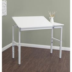 Studio Designs 24 X 36 Graphix II White Drafting And Hobby Craft  Workstation Table | Overstock