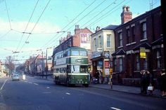 Nottingham Trolleybuses - The Last Years Nottingham City Centre, Road Transport, Double Decker Bus, Old Photos, Transportation, The Past, Street View, History, Buses