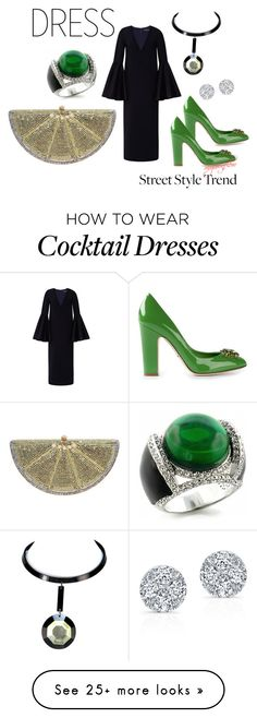 """MYOWNFLOW"" by myownflow on Polyvore featuring E L L E R Y, Dolce&Gabbana, Judith Leiber and Fantasy Jewelry Box"