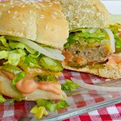300 Calorie Version Big Mac by redheadcandecorate
