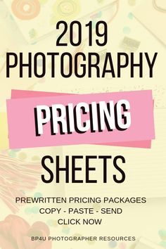 Want to figure out how you should be pricing your photography sessions and wedding in Well here you go! We have prewritten photography pricing sheets that you just have to copy and paste! So many included in this set! Photography Contract, Line Photography, Wedding Photography Pricing, Birth Photography, School Photography, Headshot Photography, Photography Services, Photography Business, Amazing Photography
