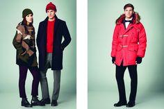 Gloverall Autumn/Winter 2014 Men's Lookbook