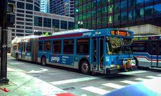 """CTA New Flyer DE60LF on Route J14 ""Jeffrey Jump Bus"" #DE60LF #kings_transports #splendid_transport #loves_vehicles #MetroTransitArchives #Public_Transport…"""