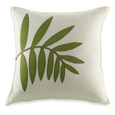 Coastal Life Luxe South Seas 17' Square Toss Pillow - Bed Bath & Beyond