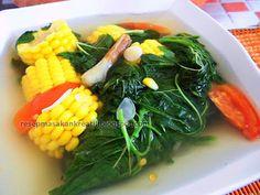 Resep Sayur Bayam Bening | Resep Masakan Indonesia (Indonesian Food Recipe)