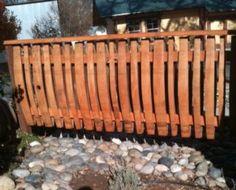 wine barrel fence
