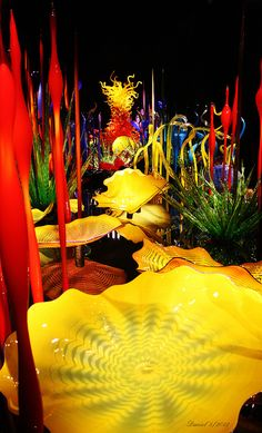 Chihuly Garden Gl Floats N Art Dale Fused