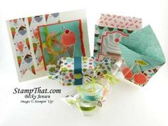 Sweet Shop Projects using Stampin' Up! product - cute treat holders
