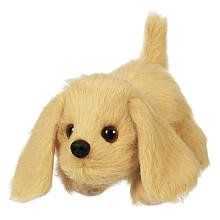 Hasbro Furreal Friends Snuggimals - Puppy Golden by Hasbro. $11.73. Furreal Friends Snuggimals Puppy Golden      Your new puppy figure needs lots of attention and loves to snuggle more than anything!   Cuddle up close with this furry little friend and pet his back   When you do, your new puppy pal will move his head and tail, just to show I'm ready to play! Precious puppies, kitties and more that come to life and respond to your touch in the palm of your hand. Furr...