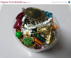 Summer Sale Harvest Destash Pieces Charms rhinestones  earrings 1 pound findings chains