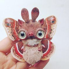 Cute Amazing Stuffed Creatures by Oso Pola.|FunPalStudio| Art, Artist, Artwork, Illustrations, Entertainment, beautiful, creativity, drawings, paintings, creatures, sculptures.